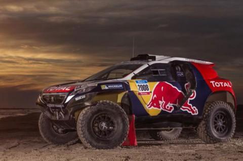 Peugeot 2008 DKR Siap Bertarung di Dakar Rally 2015