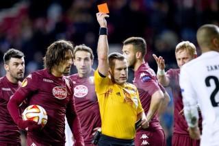 Torino Beruntung, Dua Pemain Copenhague Diganjar Kartu Merah