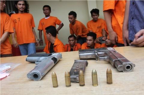 10 Ribu Peluru Tajam Ditemukan di Rumah Kosong di Mampang