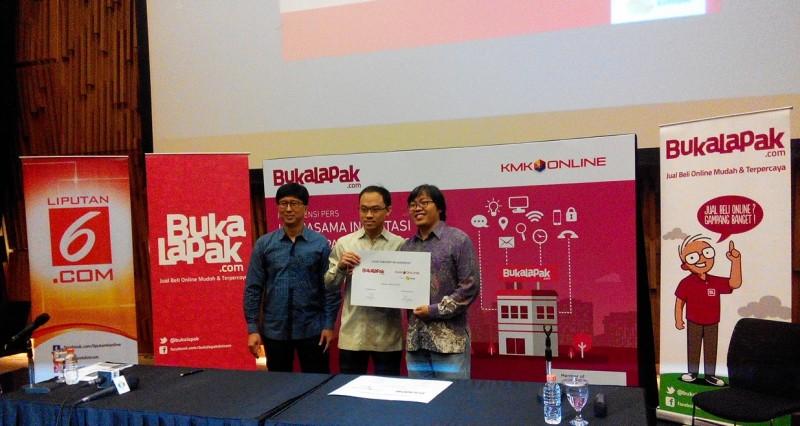 EMTEK Group kini resmi menjadi salah satu pemilik saham terbesar Bukalapak.com