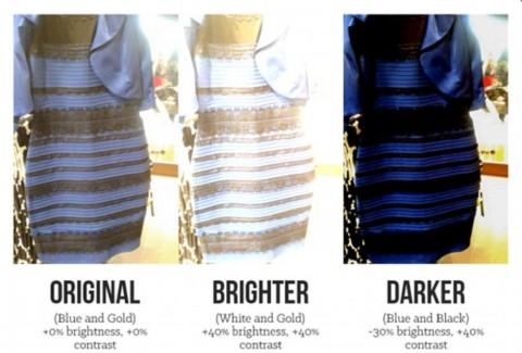 Ini Hasil Analisis Digital tentang Gaun <i>White-Gold</i> atau <i>Blue-Black</i>