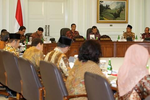 Rapat Kabinet Membahas Optimalisasi Lahan