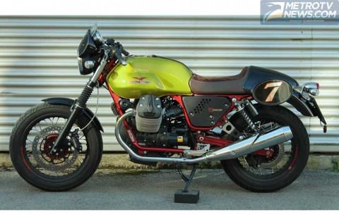 Moto Guzzi Rilis V7 Racer Verde Legnano, Hargai Sang Legenda