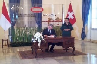 RI dan Swiss Jalin Kerja Sama Hukum Lintas Negara