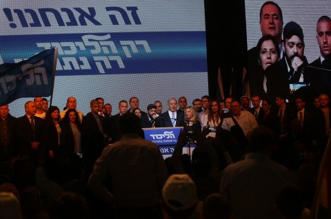 Klaim Menangkan Pemilu, Netanyahu: Saya Bangga terhadap Warga Israel