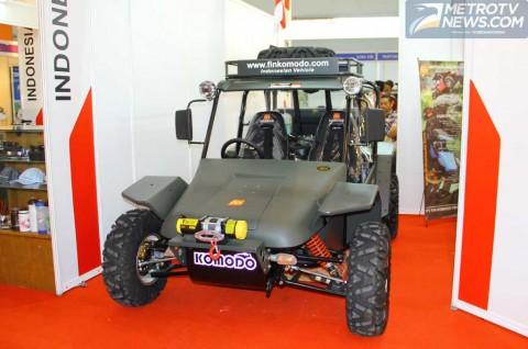 Mobil Nasional Fin Komodo, Tetap Eksis di INAPA