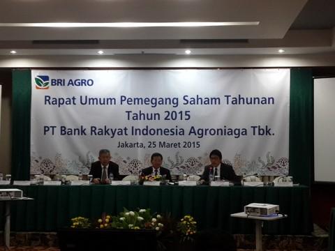 BRI Agro Bagi-bagi Dividen Rp6,07 Miliar