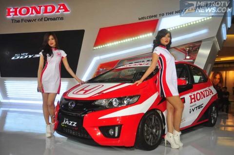 Honda Kenalkan All New Jazz buat Balap di ISSOM 2015