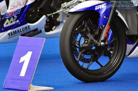IRC Siapkan 650 Ban Untuk Yamaha Sunday Race R Cup Series