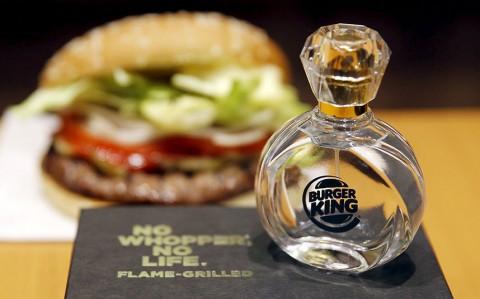 Parfum Aroma Burger Ludes di Jepang