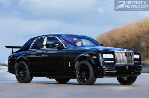 Mobil SUV dari Rolls-Royce Mulai Diriset Pakai Bodi Phantom