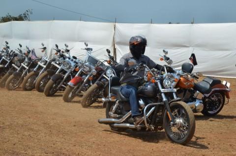 Rombongan Harley Tabrak Lari Warga di Tasikmalaya