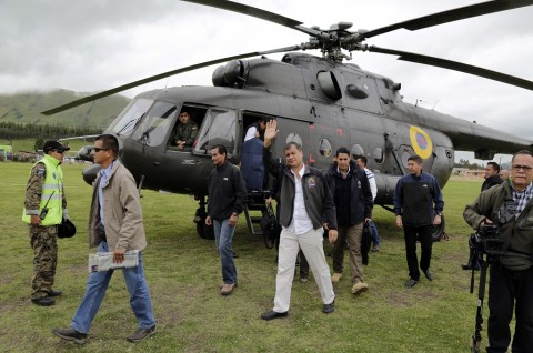 Diancam Dibunuh, Presiden Ekuador Ditarik dari Area Publik