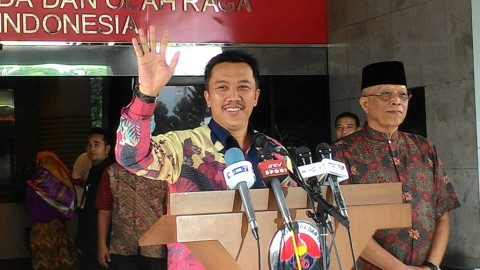 Menpora: Saya Peduli dengan Nasib Pesepak Bola di Indonesia