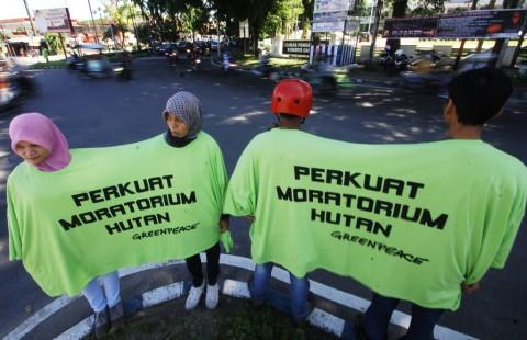 Greenpeace Minta Program Investasi Hijau Bukan Pencitraan