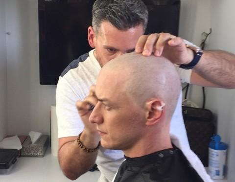 James McAvoy Rela Botak demi Penampilan Baru Professor X