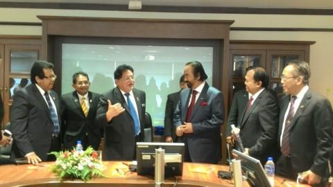 Surya Paloh Temui Menteri Wilayah Persekutuan Malaysia Medcom Id