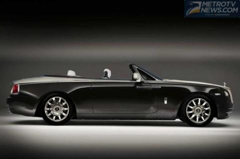 Rolls-Royce Dawn, Seri Terbaru Siap Mengaspal 2016