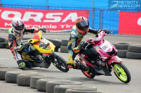 Corsa Uji Coba Ukuran Baru R 46 di Matic Race Seri 2 Banten
