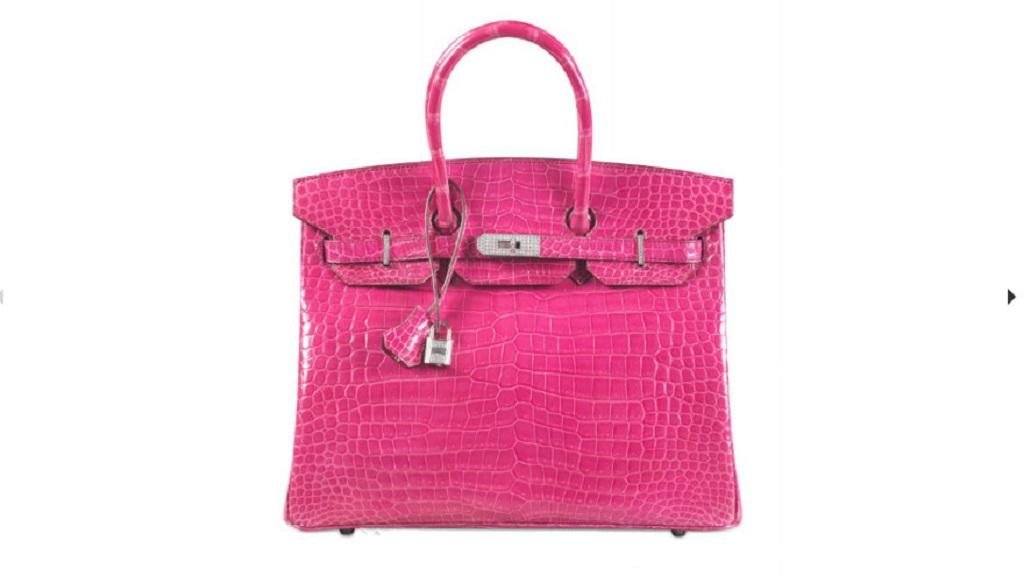 Tas tangan berwarna merah muda bermerek Hermes terjual Rp2 22da6a86c5