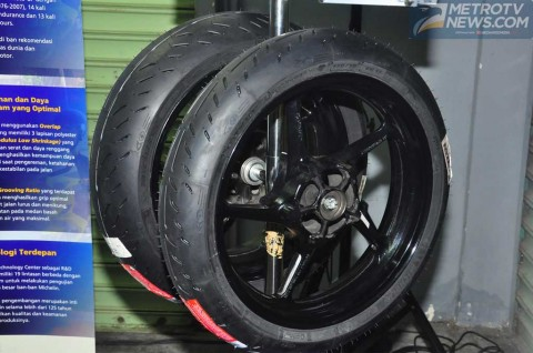 Sepasang Michelin Power Super Sport Evo Dibanderol Rp4,5 Juta