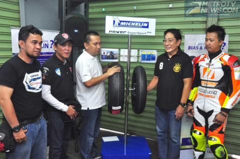 Michelin dan Komunitas Moge Gelar Coaching Clinic di Sentul