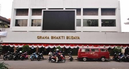 Suasana Taman Ismail Marzuki di Jakarta. Gubernur DKI Jakarta