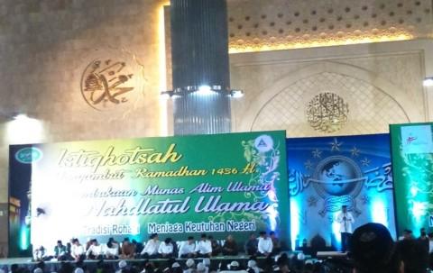 Presiden Jokowi Hadiri Istiqhosah di Masjid Istiqlal