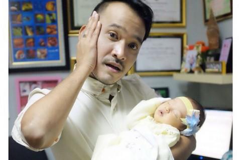 Foto Putri Ruben Onsu Masuk Akun Jual Beli Bayi Online