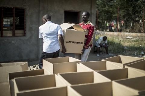 Pemilu di Burundi Diwarnai Pelemparan Granat