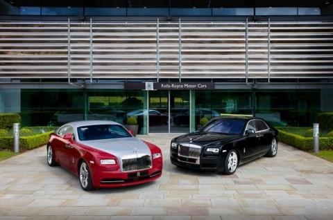 Rolls-Royce Ghost Series II dan Wraith Ramaikan GFoS