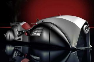 Eternity Concept, Motor Konsep Mercedes-Benz Hasil Imaji Mehmet