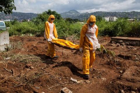 Ebola Kembali Menghantui Liberia