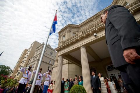 Kedutaan Kuba di Washington Kembali Dibuka