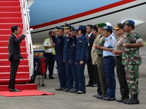 Malam Ini Jokowi Terbang ke NTT