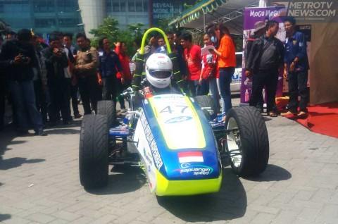 Mahasiswa ITS Konsisten Ikut Lomba Mobil Formula Ramah Lingkungan