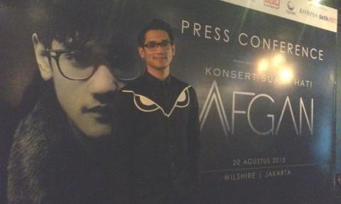 Afgan Janji Tampil Beda Saat Konser di Malaysia