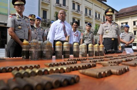 45 Peluru Aktif Diamankan Polsek Pesanggrahan
