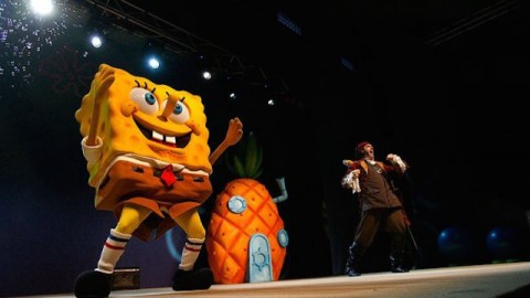 Bowie dan Steven Tyler Garap Lagu Untuk Drama Musikal SpongeBob