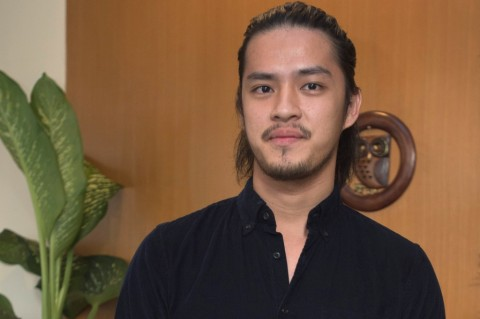Morgan Oey <i>Enjoy</i> Akting di Film Bernapaskan Islami