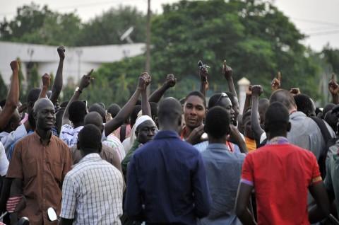 Paspampres Burkina Faso Culik Presiden dan PM