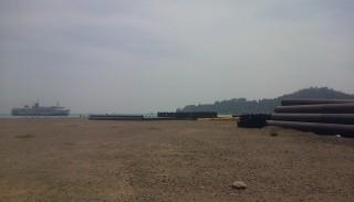 Dermaga VI Pelabuhan Merak Mangkrak