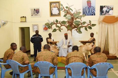 Paspampres Burkina Faso Akhiri Kudeta