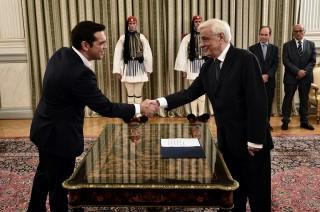 PM Tsipras Umumkan Kabinet Baru Yunani