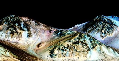 Heboh! NASA Temukan Air di Mars