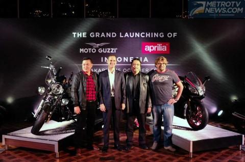 Ekonomi Masih <i>Galau</i>, Aprilia dan Moto Guzzi Optimis di Indonesia