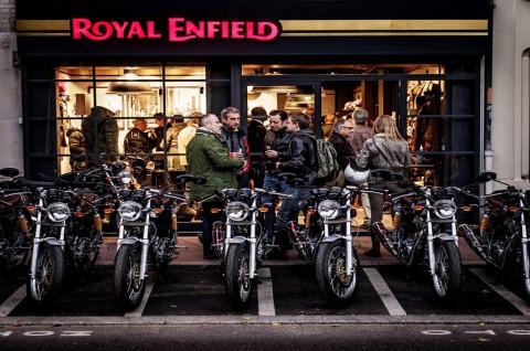 Royal Enfield Buka Gerai Eksklusif di Perancis dan Spanyol