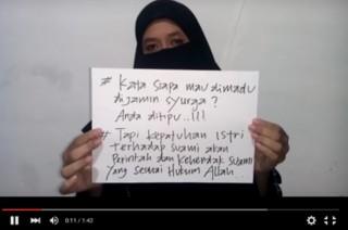 Beredar Video Dukungan Poligami dari Seorang Istri