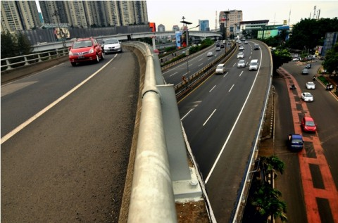 DKI Kebut Pembangunan Enam Ruas Jalan Tol