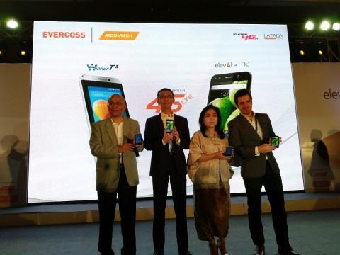 EVERCOSS Luncurkan Dua Smartphone 4G